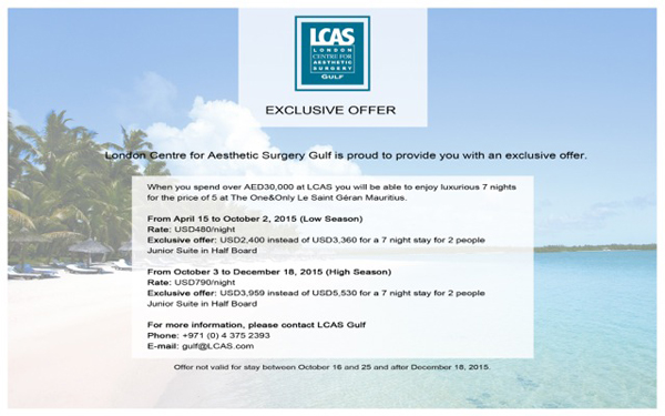 Exclusive Offer LCAS Aug2015